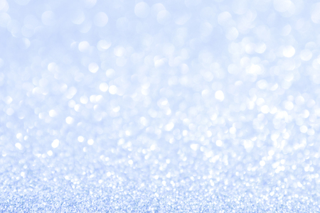 abstract background blue light bokeh christmas holiday