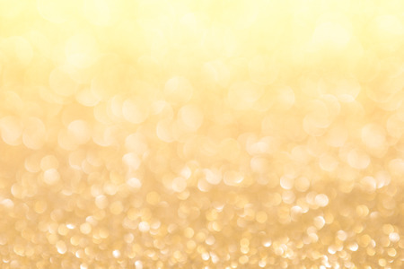 abstract background gold light bokeh christmas holiday Stock Photo