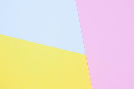 paper pastel geometric flat lay abstract background texture Stock Photo