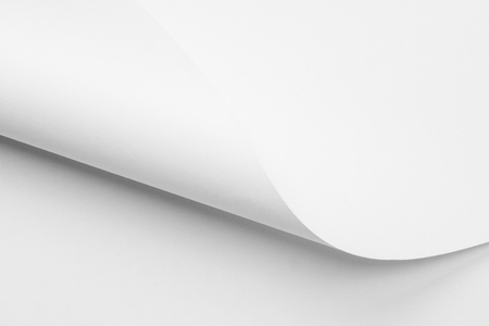 twisted white paper sheets background texture for design