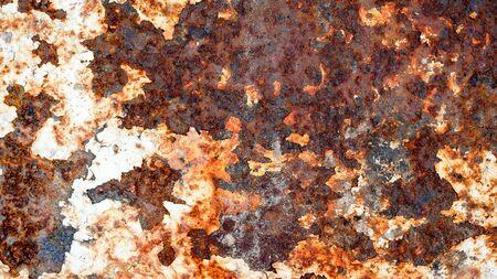 grunge rusty metal texture background for interior exterior decoration and industrial construction concept design Reklamní fotografie