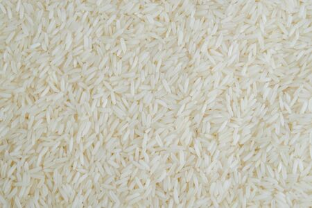 White long rice background texture