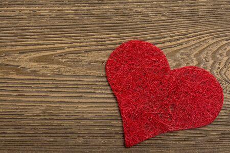broken trust: Red heart