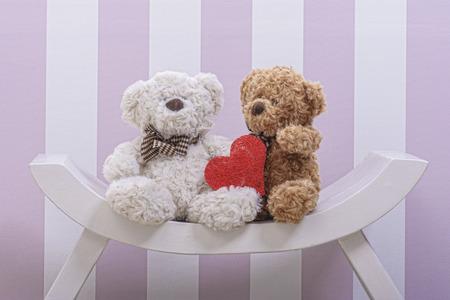 eddy: Plush eddy bears in love