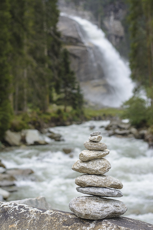 yoga rocks: Yoga Rocks in Austria, Krimml waterfall