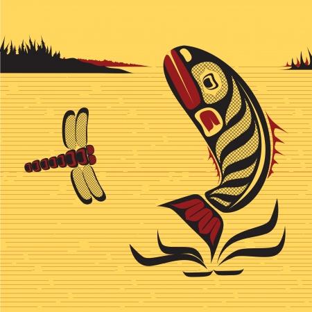 Canadese inheemse North West Art