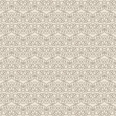 retro lace, romantic seamless pattern background Vector