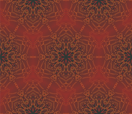 arabic seamless vintage dark pattern, Stock Vector - 16933514