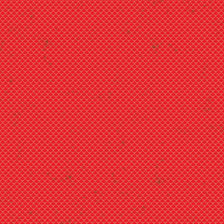 fishing nets: Seamless terracota roof tile pattern