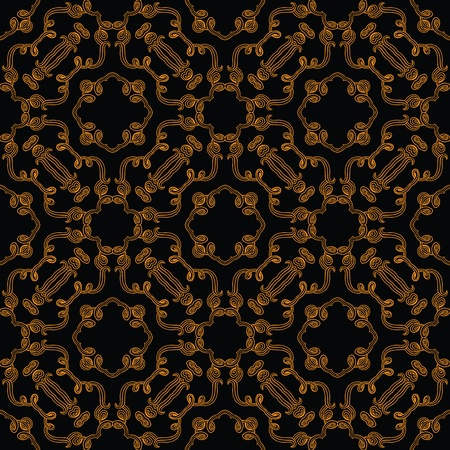 seamless in baroque and rococo style Vector