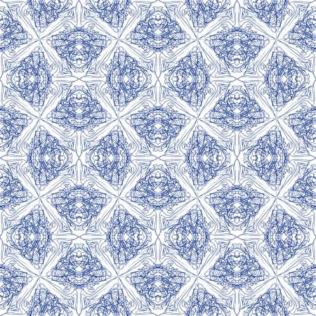 azul marino: modelo elegante caligrafía, los antecedentes sitio web, envoltura de vacaciones, sin fisuras, de estilo barroco y rococó, en color azul marino Vectores