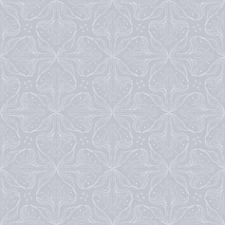 vintage floral pattern design Vector