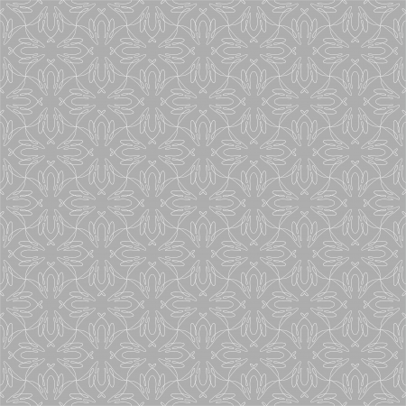 linear pattern with silver lines, website background or holiday wrapping paper or elegant wedding invitation, in baroque and rococo style Vector