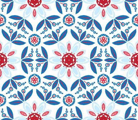 illustration of mandala, seamless pattern Stock Vector - 17147267