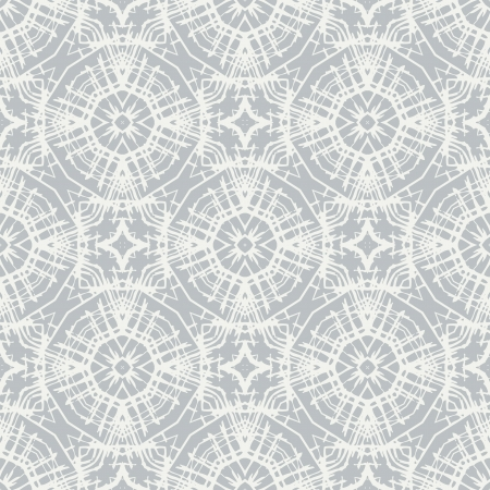 white lace, simple pattern Vector