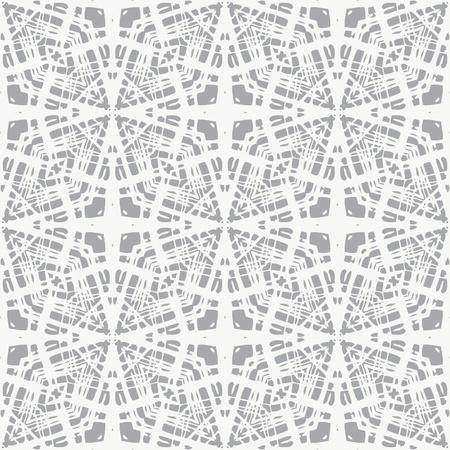 灰色、クリーンでシンプルな幾何学模様、ウェブサイトの背景やファッショナブルな織物や包装紙休暇で白いレース  イラスト・ベクター素材