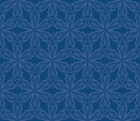 vintage fabric seamless pattern design Vector