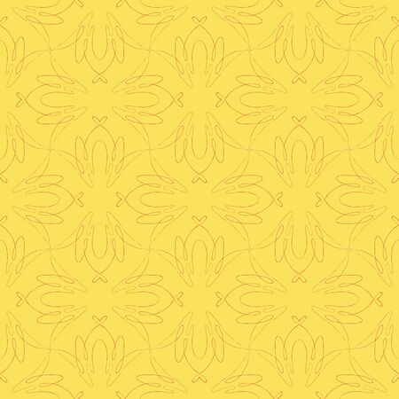 vintage seamless flourish pattern design Stock Vector - 17173776