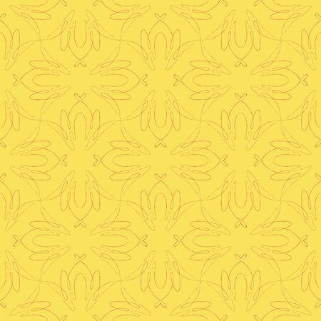 vintage seamless flourish pattern design Stock Vector - 17173776