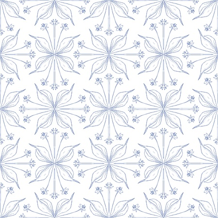 Elegant floral background, seamless pattern