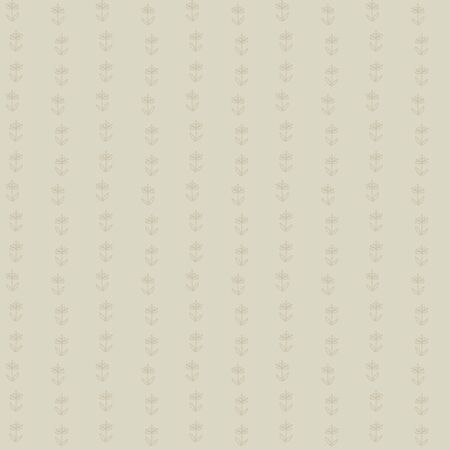 seamless pattern, little beige flowers Vector