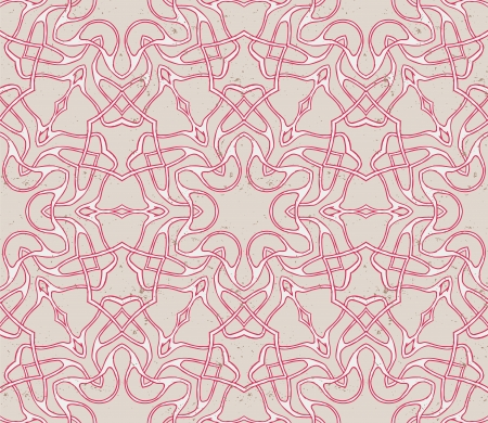 vintage seamless pattern with eastern motif Stock Vector - 17200953