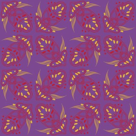 strange futuristic psychedelic pattern Stock Vector - 17201018