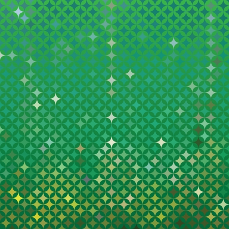 abstract green detailed background Illustration