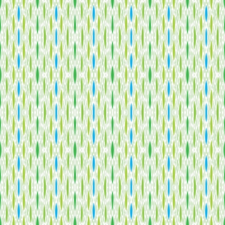 textile image: green vintage pattern, little strokes and lines