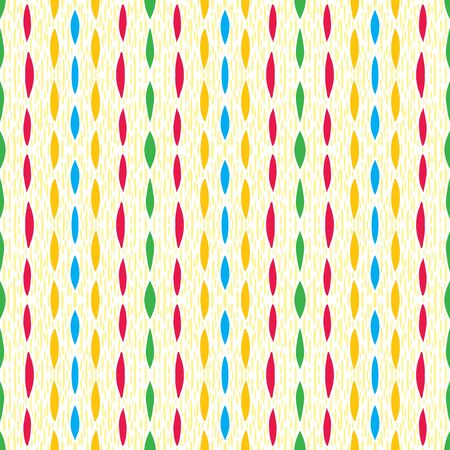 cross hatching: vintage pattern fabric, colorful strokes and lines Stock Photo