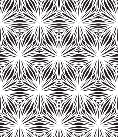 linear art: linear pattern, white and black triangles