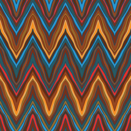 zigzag vintage seamless pattern Stock Photo - 17201070