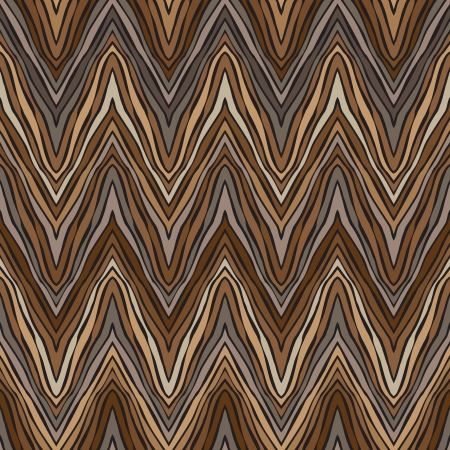 herring: psychedelic linear zigzag pattern Illustration