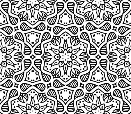 graphic moroccan ornament  Vectores