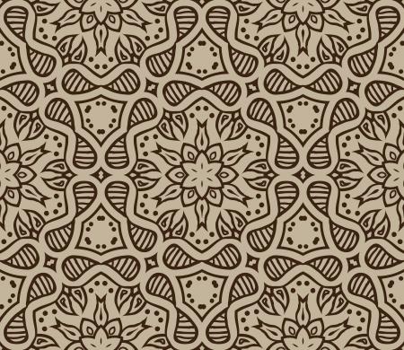 beige moroccan ornament  Stock Vector - 17201064