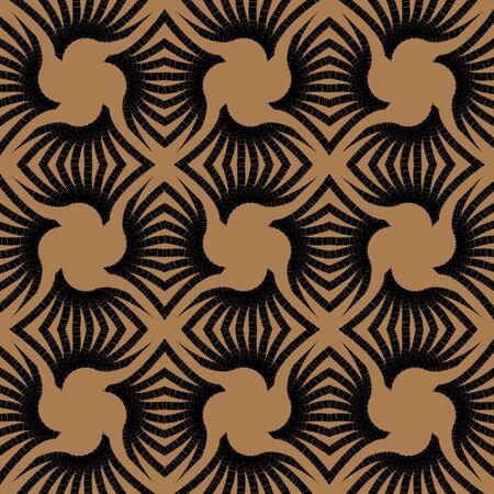 textile image: geometric art deco vintage pattern