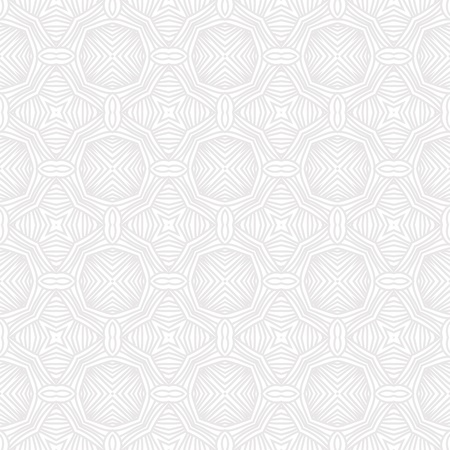 modern linear geometric pattern in white and gray, website background or holiday wrapping paper or elegant wedding invitation, seamless
