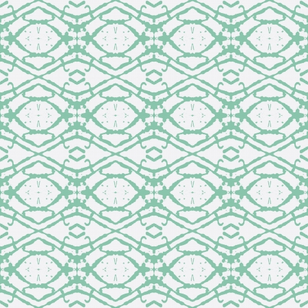 inked: hand drawn emerald green ethnic ornament