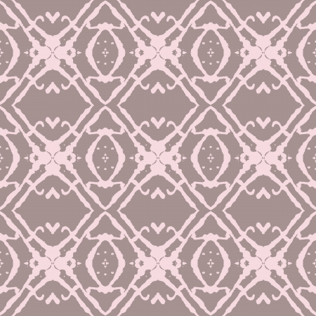 luxuriate: Bold Beige and Pink Seamless Pattern