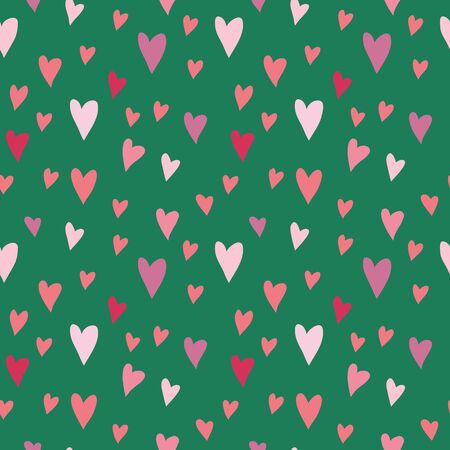 seamless vector pattern with hearts for valentines day Stock Vector - 17419824