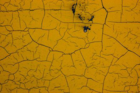 varnish: yellow cracks textured background