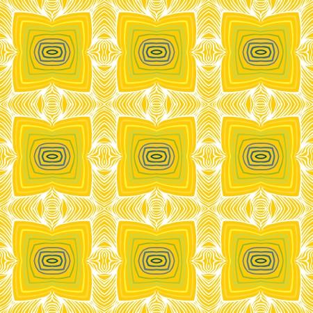 geometric sixties wallpaper design Illustration
