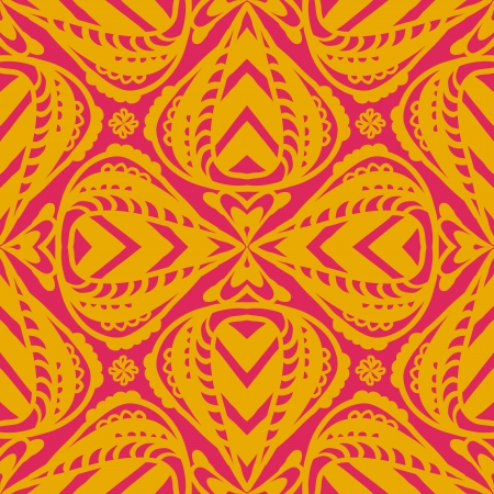 Indian pattern Illustration