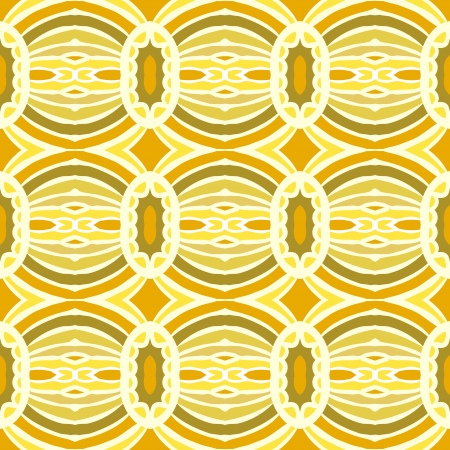 tribal pattern with overlapping circles Vector