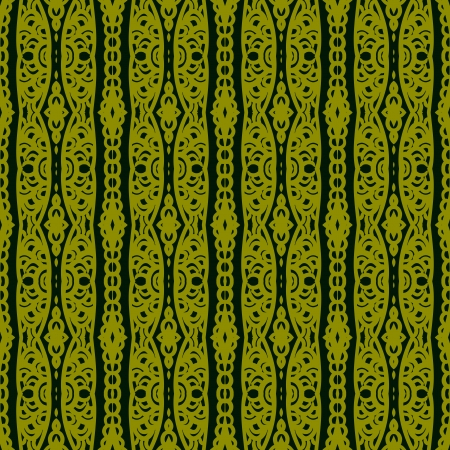 Ethnic pattern with lacy ornament Vector