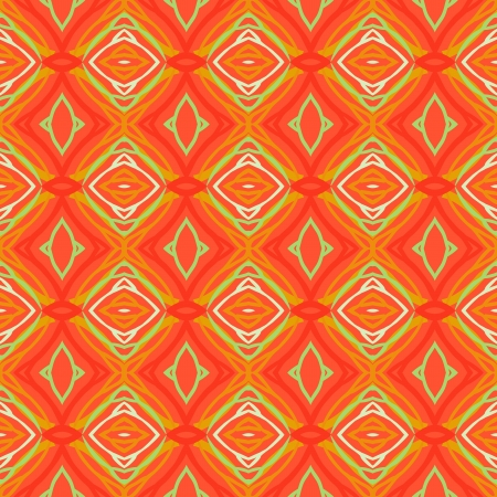 Pattern with bold stylized Chinese motifs Vector