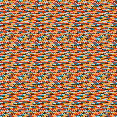 Camouflage seamless geometric pattern
