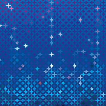 royal blue background: Abstract royal blue detailed background with colorful elements like bursting stars or glittering gemstones  Background image for a spa website, night club flyer, wallpaper, music poster Illustration