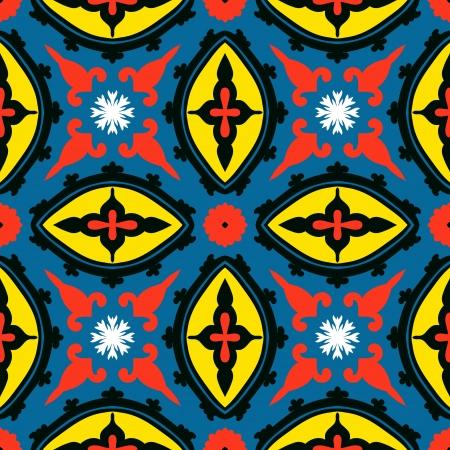 Suzani pattern Иллюстрация