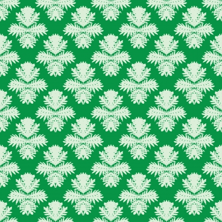 simple: Simple, elegant vector pattern in jade green